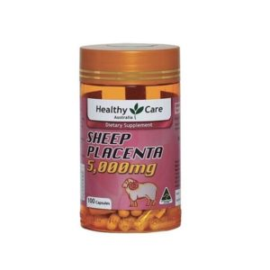 VIÊN UỐNG NHAU THAI CỪU HEALTHY CARE SHEEP PLACENTA 5000mg